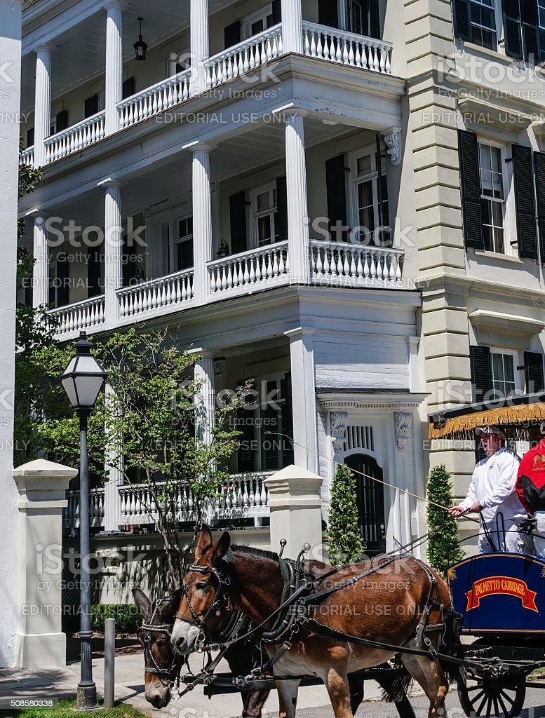Historic Charleston, South Carolina stock photo