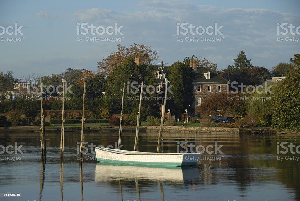 Historic Chestertown Maryland stock photo