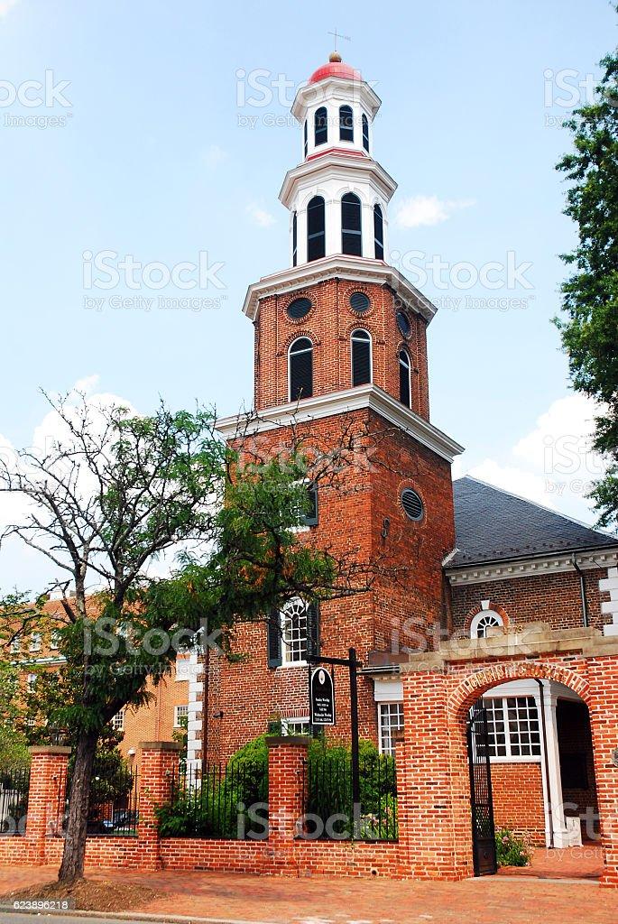 Historic Christ Church, Alexandria, Virginia stock photo