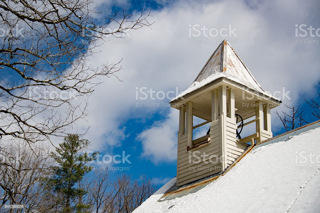 Historic Church Bell stock photo