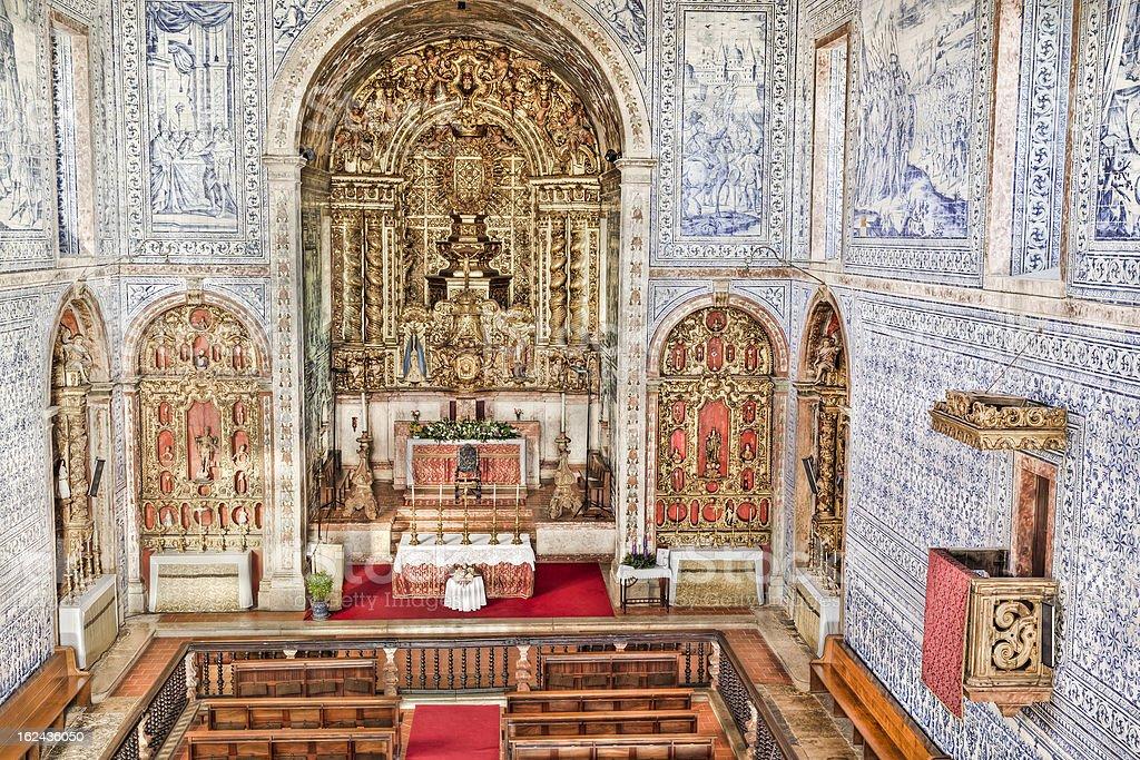 Historic church in Castro Verde, Alentejo, Portugal royalty-free stock photo