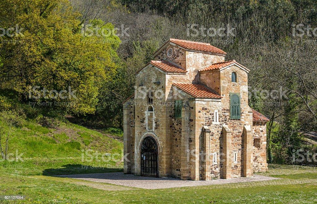 Historic church,Oviedo stock photo