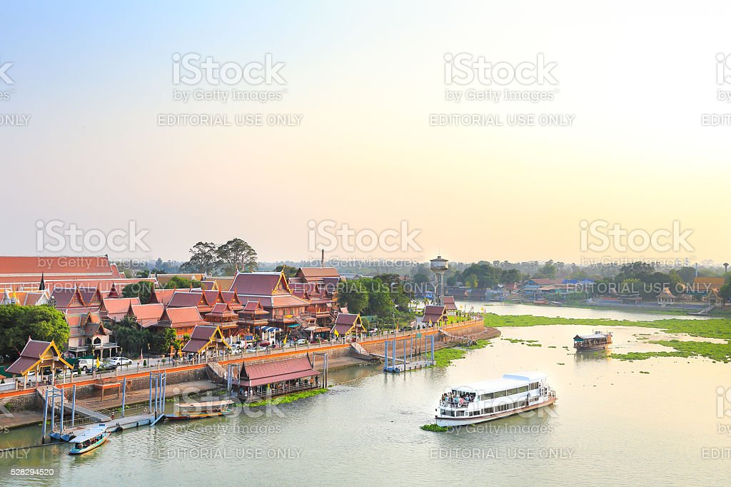 Historic City of Phra Nakhon Si Ayutthaya stock photo