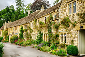 Historic cottages in Castle Combe