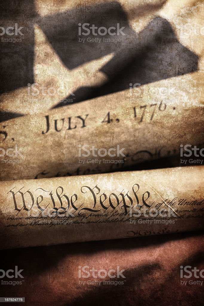 Historic Documents stock photo