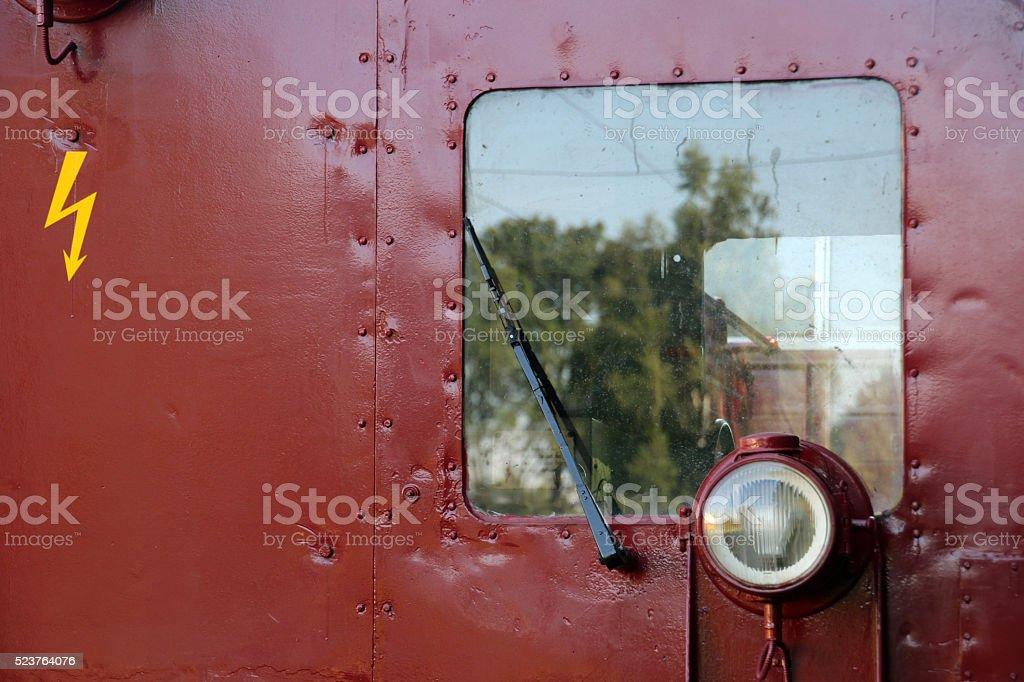 Historic Electric Locomotive stock photo