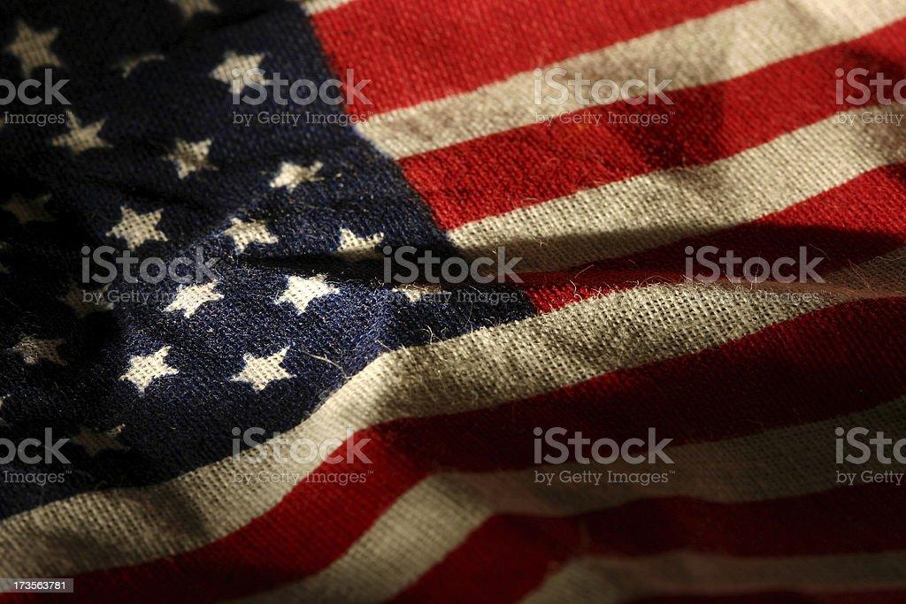 Historic Flag royalty-free stock photo