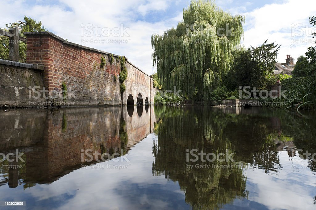 Historic Ford Crossing stock photo