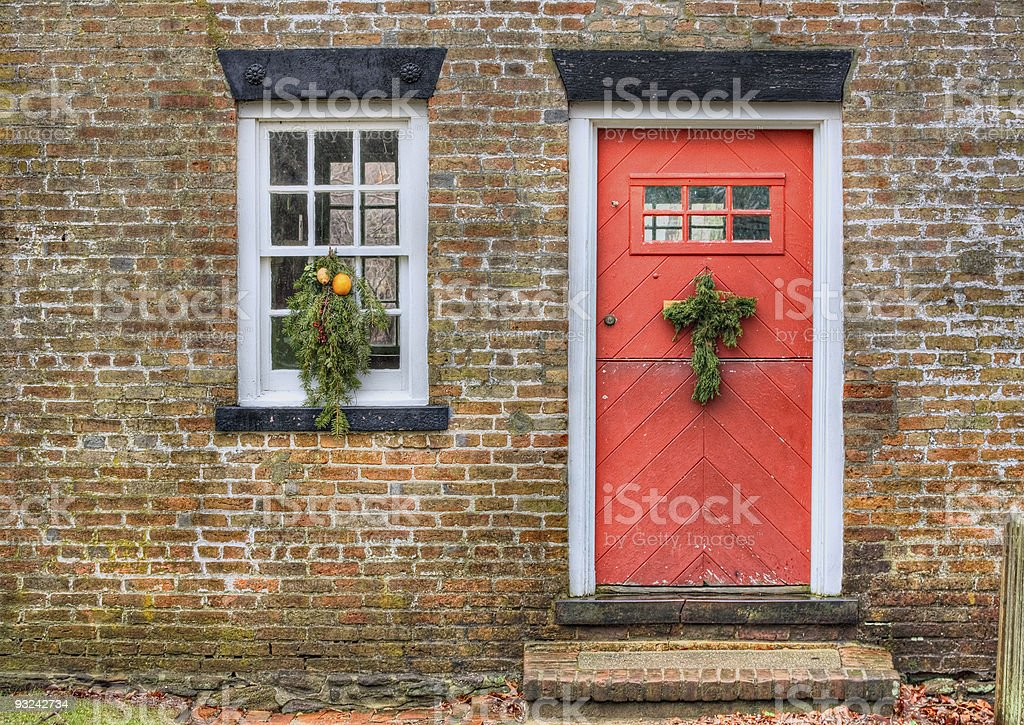 Historic Foremans Cottage stock photo