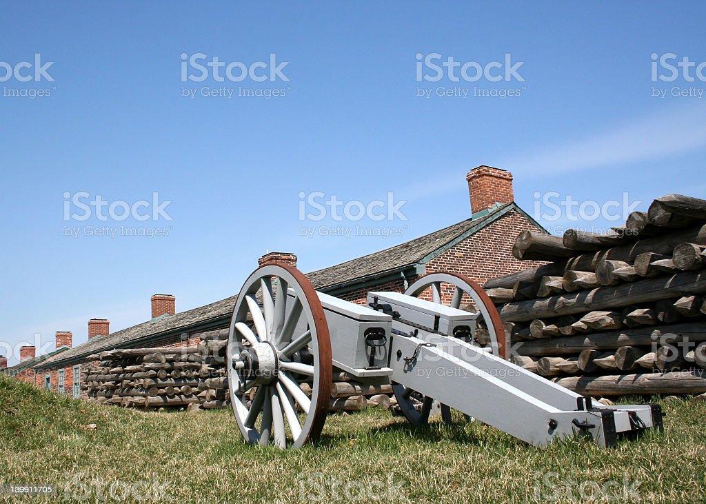 Historic fort york royalty-free stock photo