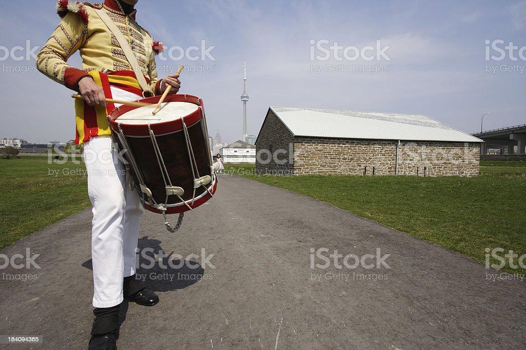 Historic Fort York Toronto royalty-free stock photo