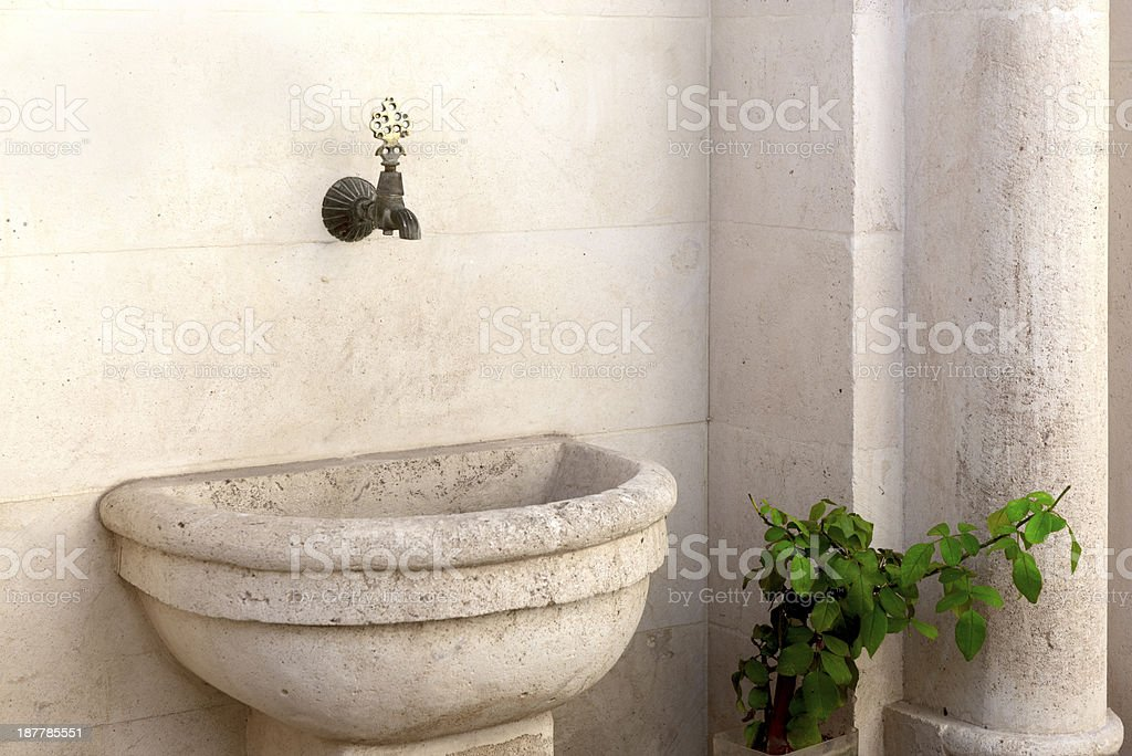 Historic Fountain royalty-free stock photo