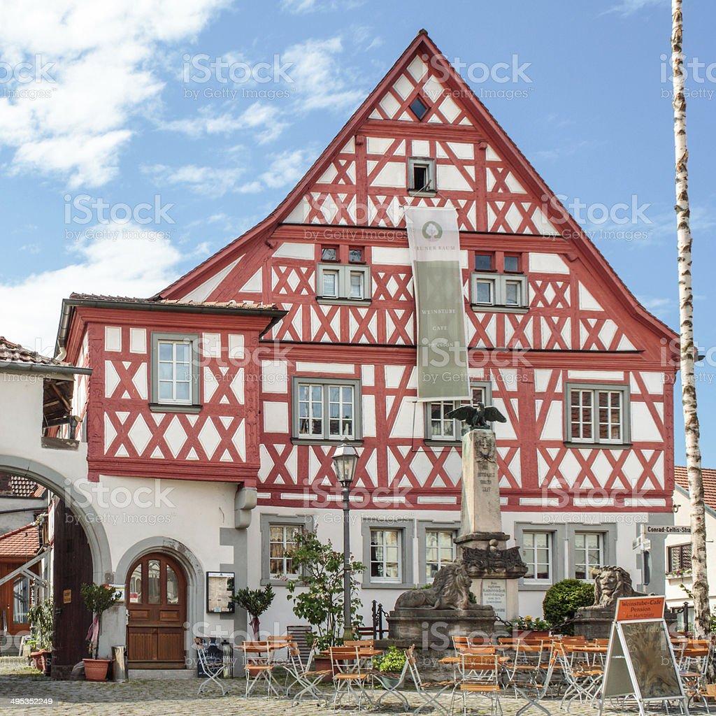 Historische Franconia Lizenzfreies stock-foto