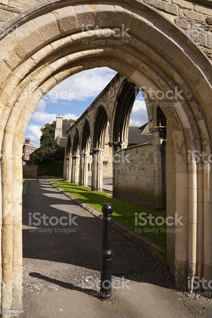 Historic Gloucester, UK stock photo