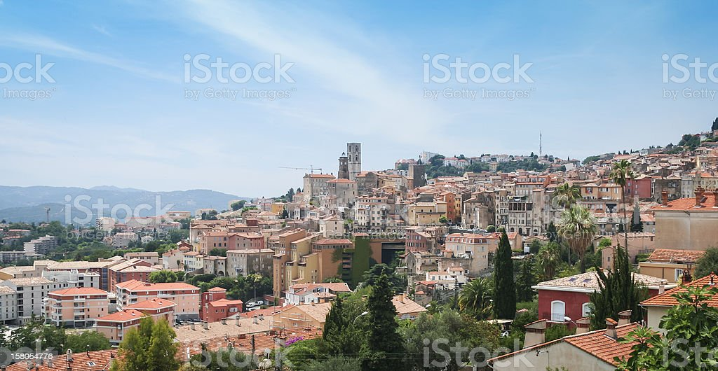 historic grasse city cote d'azur france royalty-free stock photo