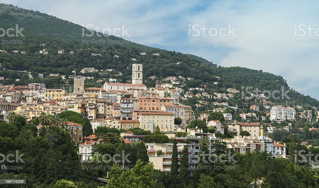 historic grasse town alps france royalty-free stock photo