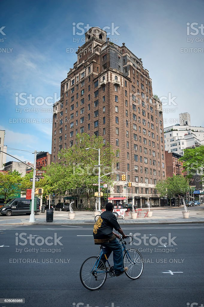 Historic Greenwich Village Neighborhood of Manhattan, New York stock photo