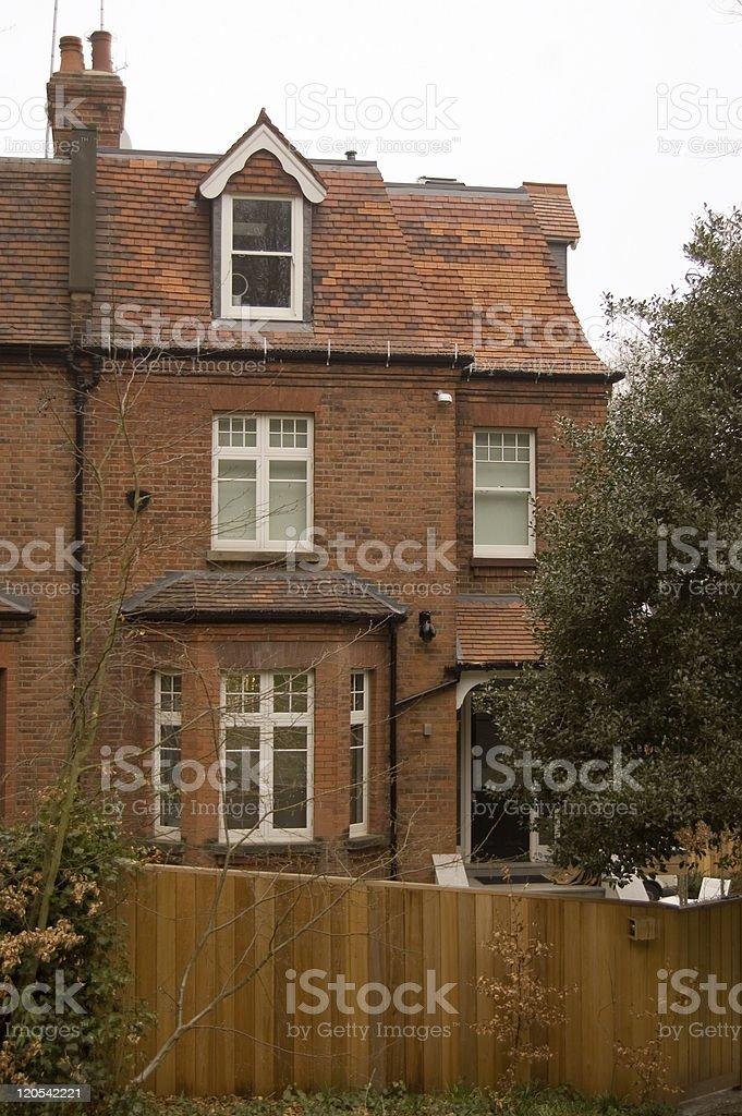 Historic Home of historians J L and Barbara Hammond stock photo