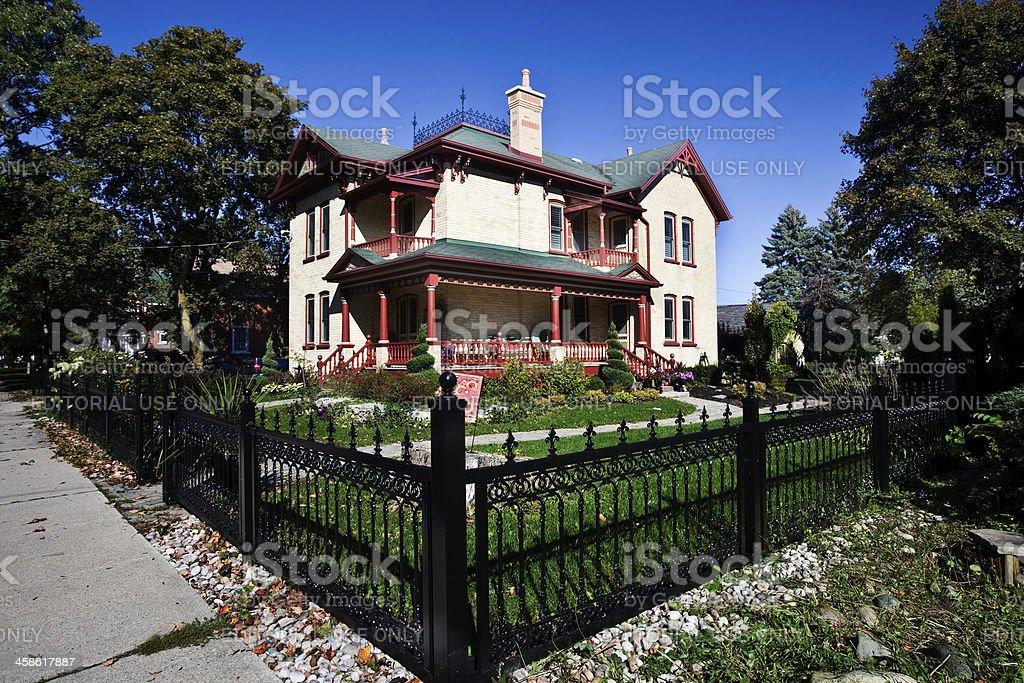 Historic Home royalty-free stock photo
