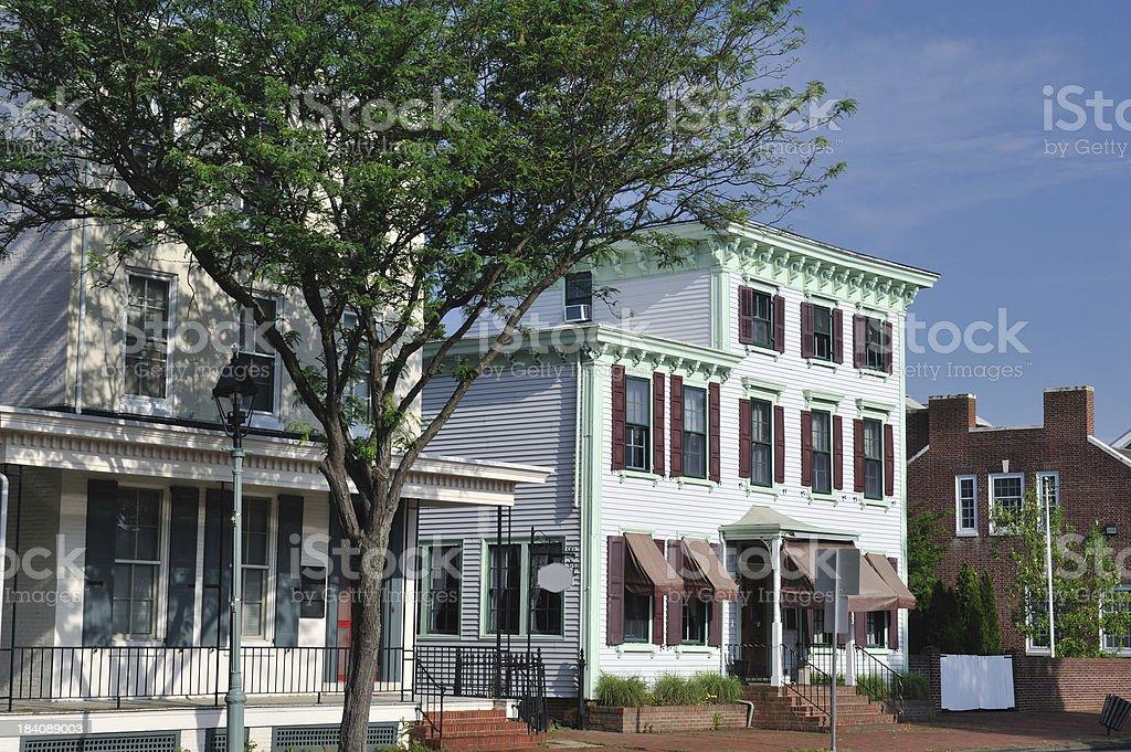 Historic Homes in Dover stock photo