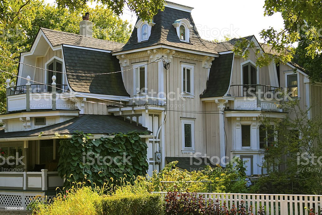 Historic House, Martha's Vineyard. royalty-free stock photo