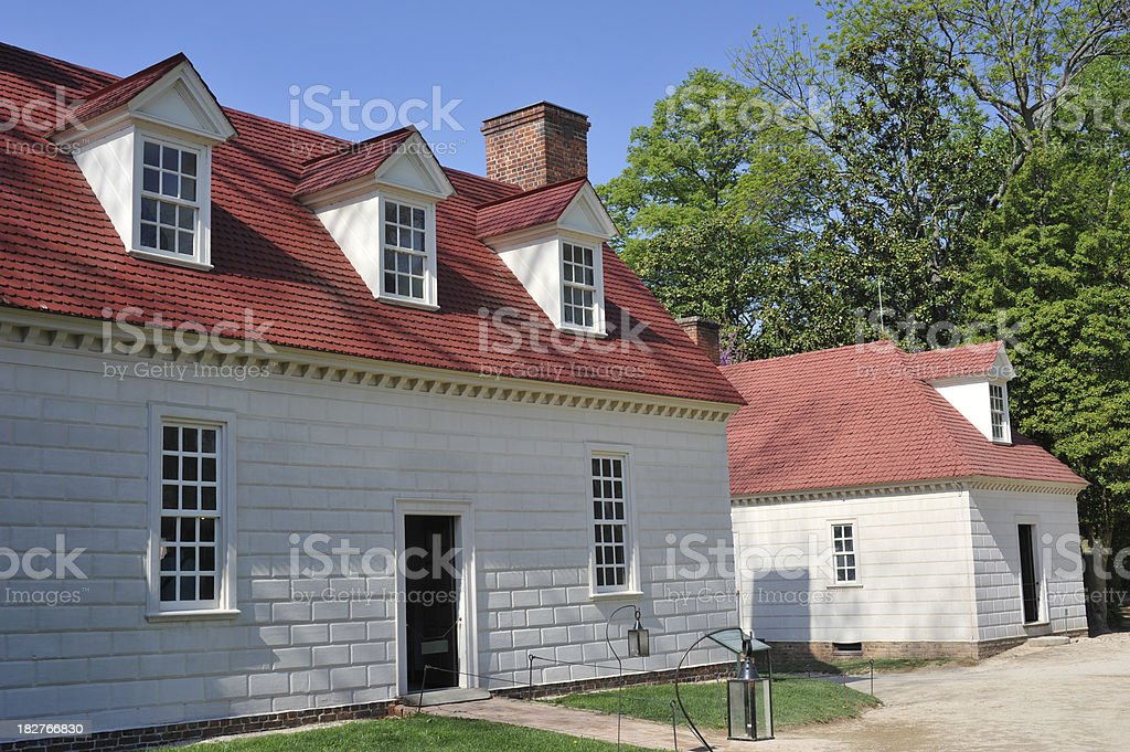 Historic Houses royalty-free stock photo