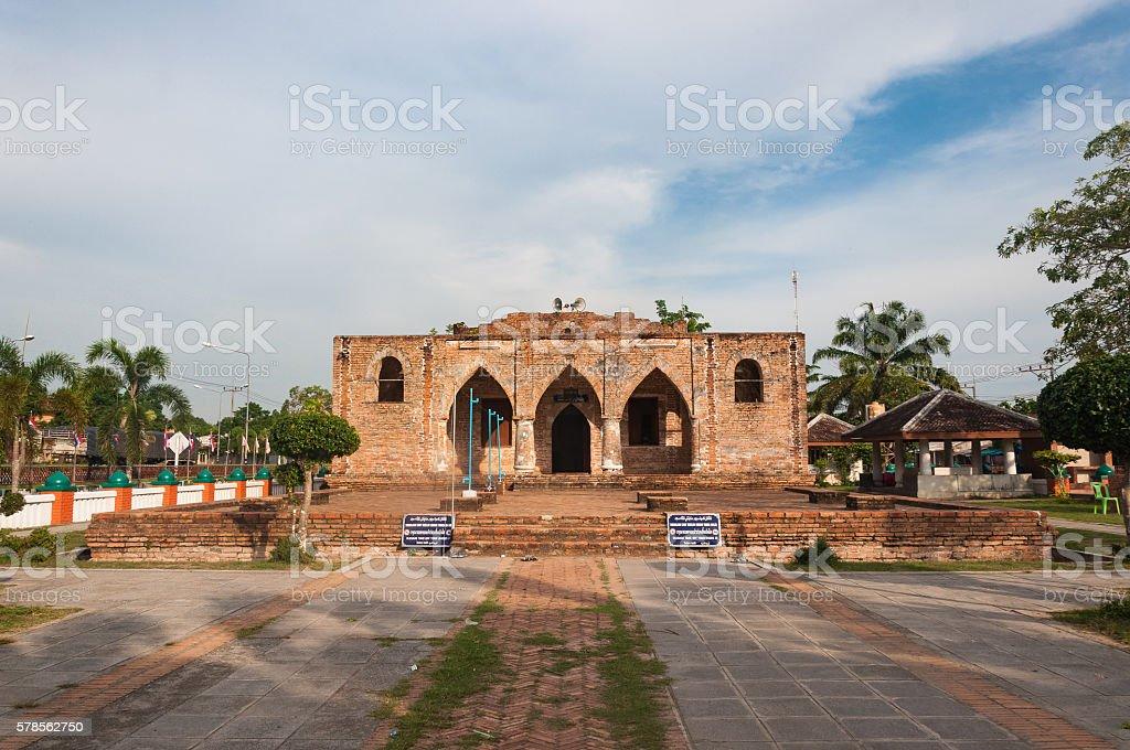 Historic Kru Se mosque(masjid) stock photo