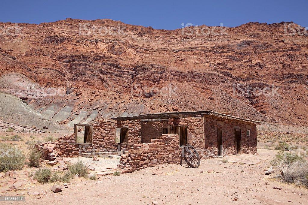 Historic Lees Ferry Fort Glen Canyon National Recreation Area Arizona stock photo