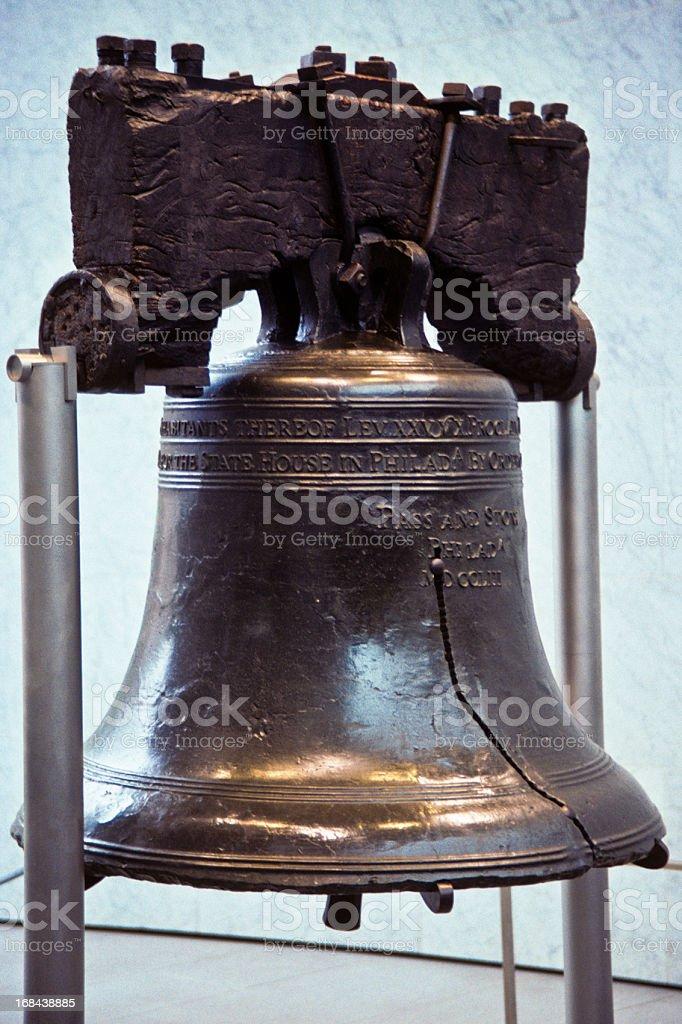 Historic Liberty Bell stock photo