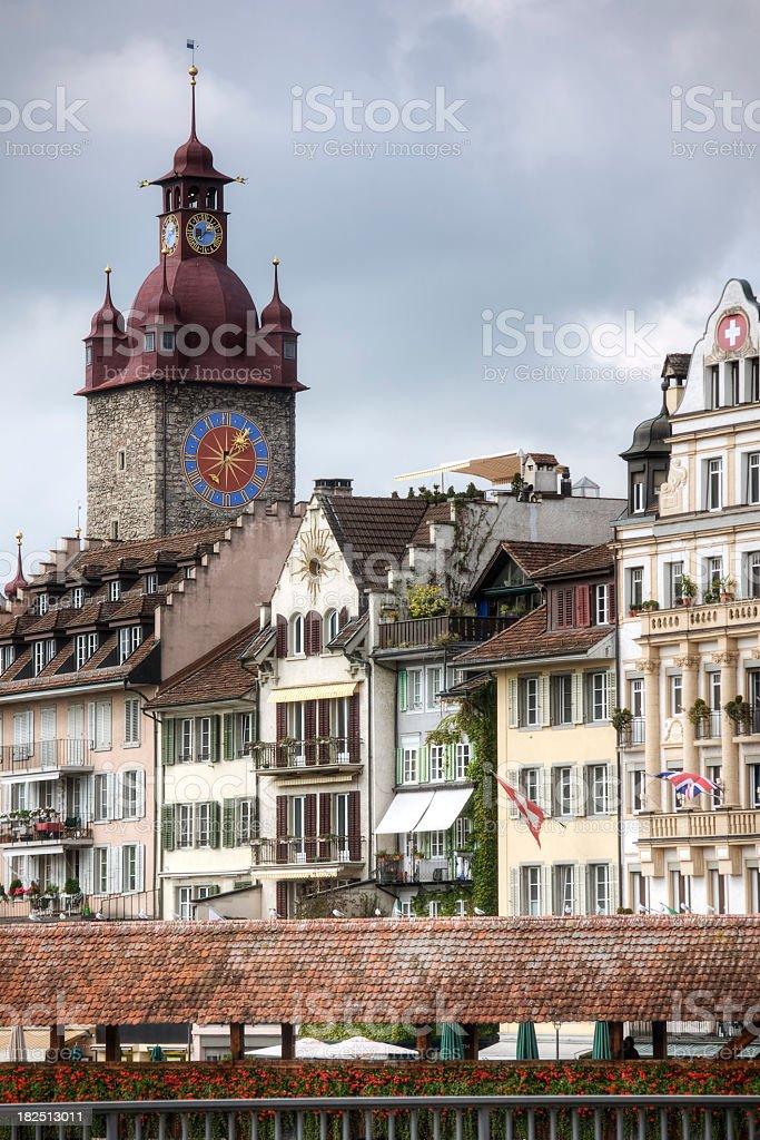 Historic Lucerne stock photo
