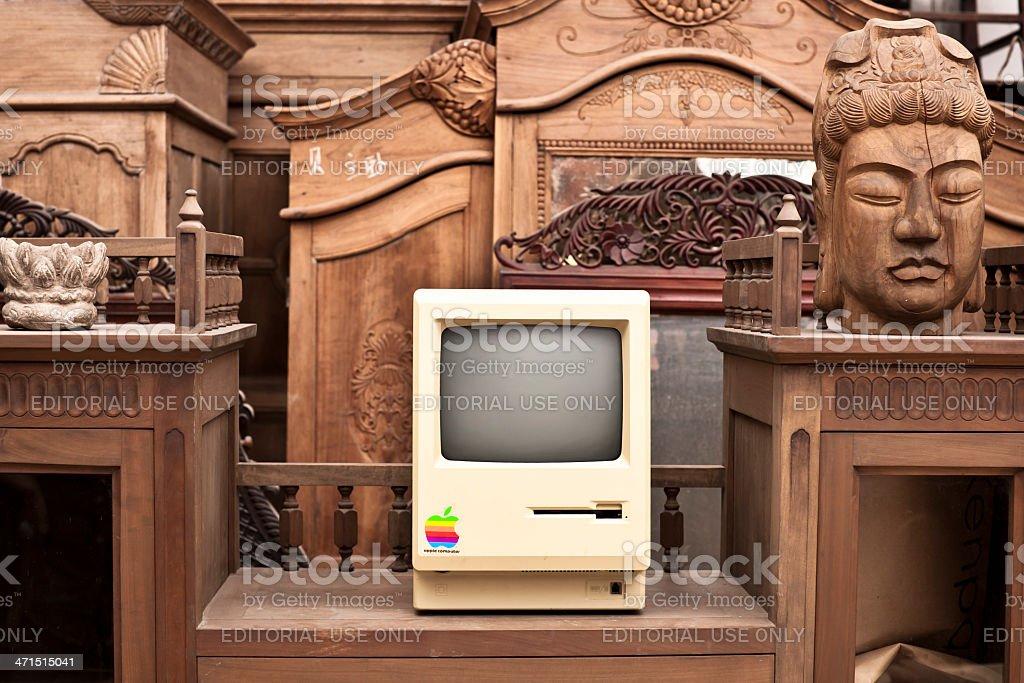 Historic Macintosh in Flea Market XXL royalty-free stock photo