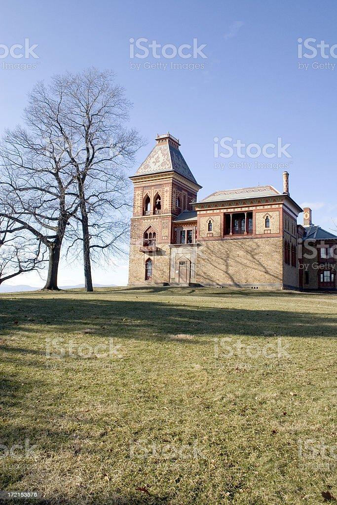 Historic Marker - Olana stock photo