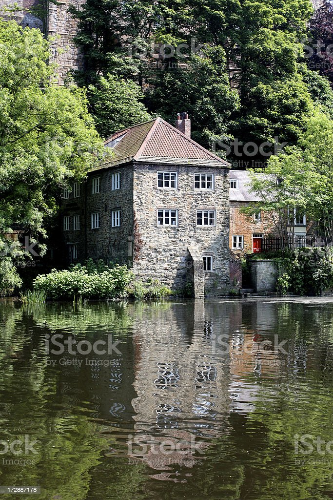 Historic Mill in Durham royalty-free stock photo
