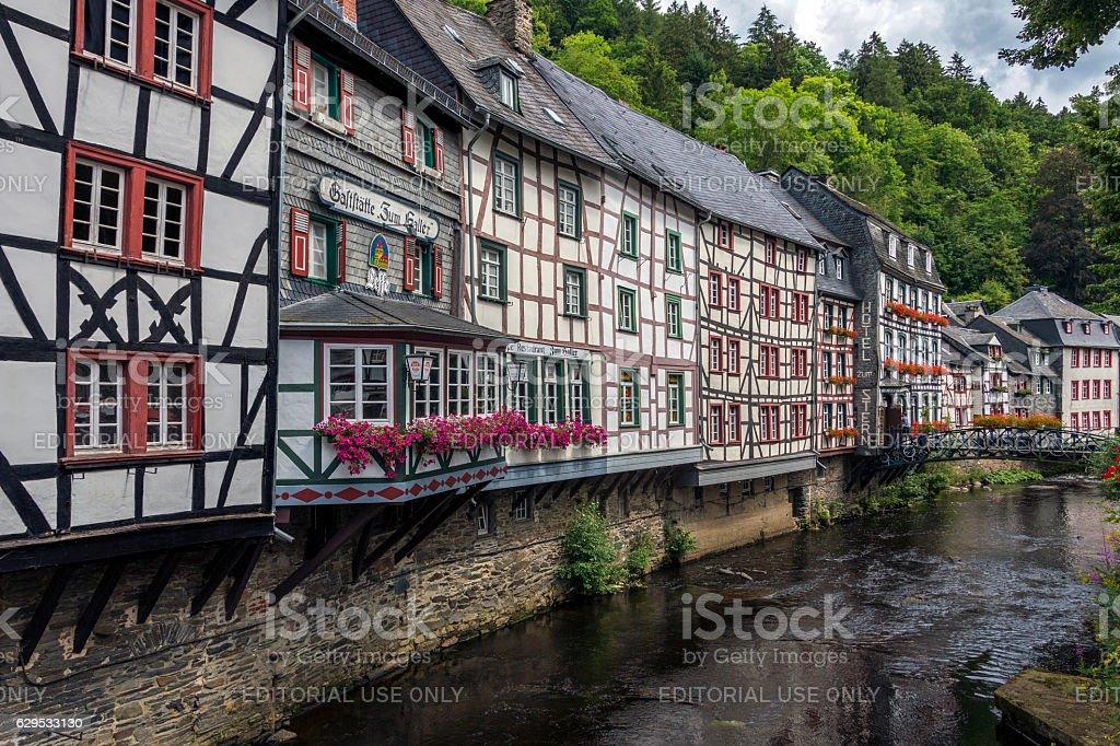 Historic Monschau - Germany stock photo