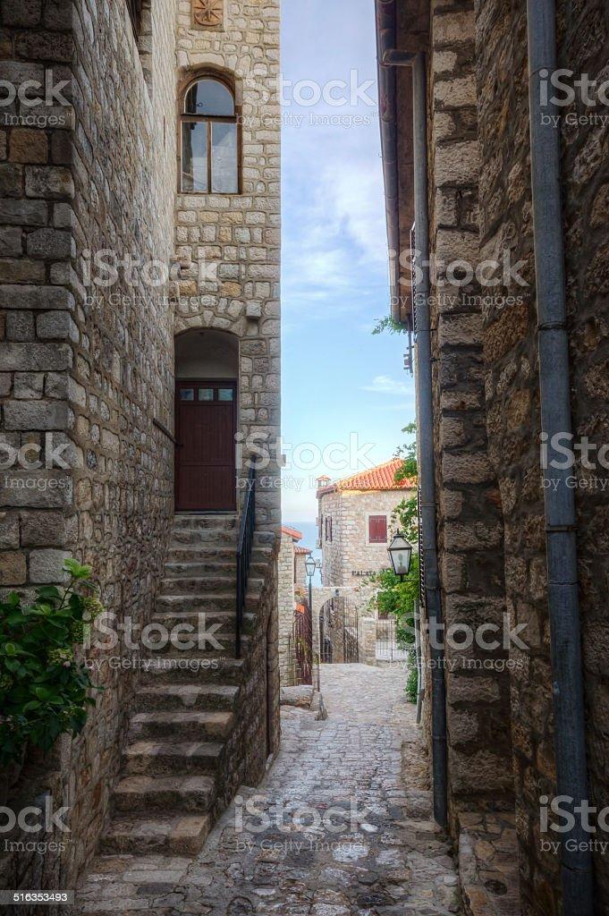 Historic Montenegro stock photo