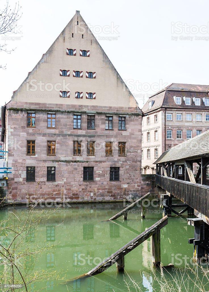 Historic Nuremberg stock photo