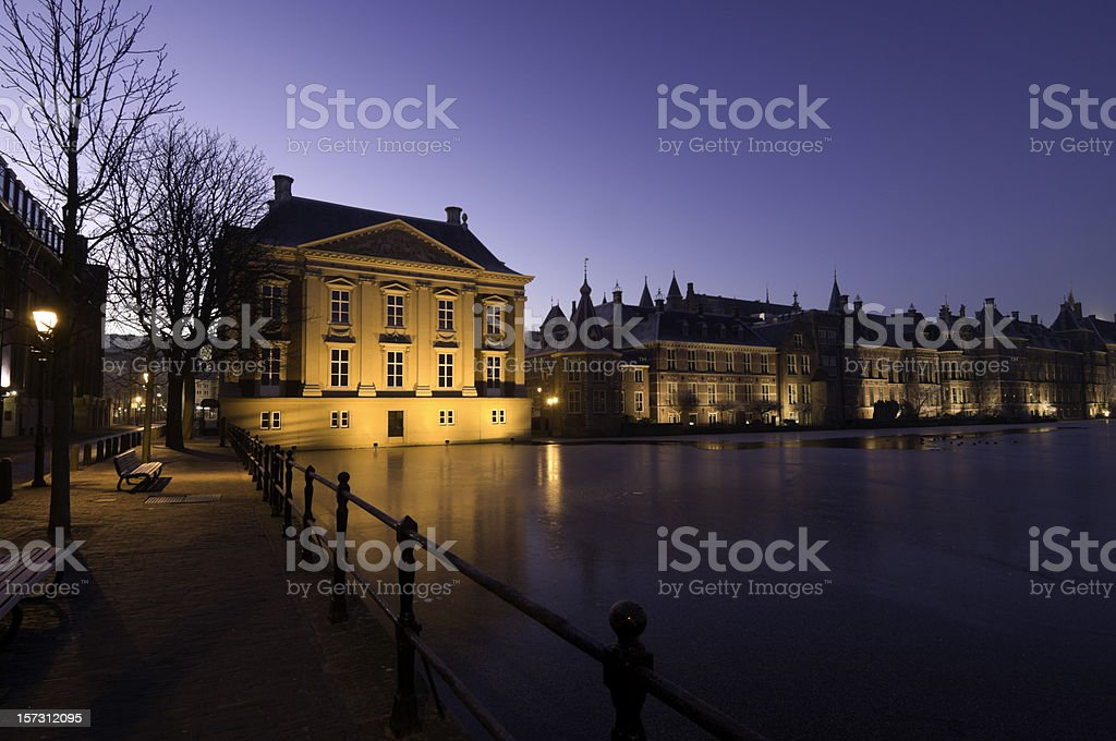 Historic Parliament Buildings royalty-free stock photo
