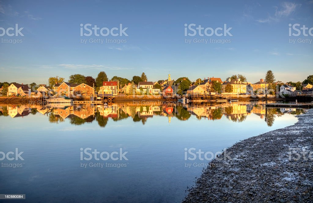 Historic Portsmouth, New Hampshire stock photo