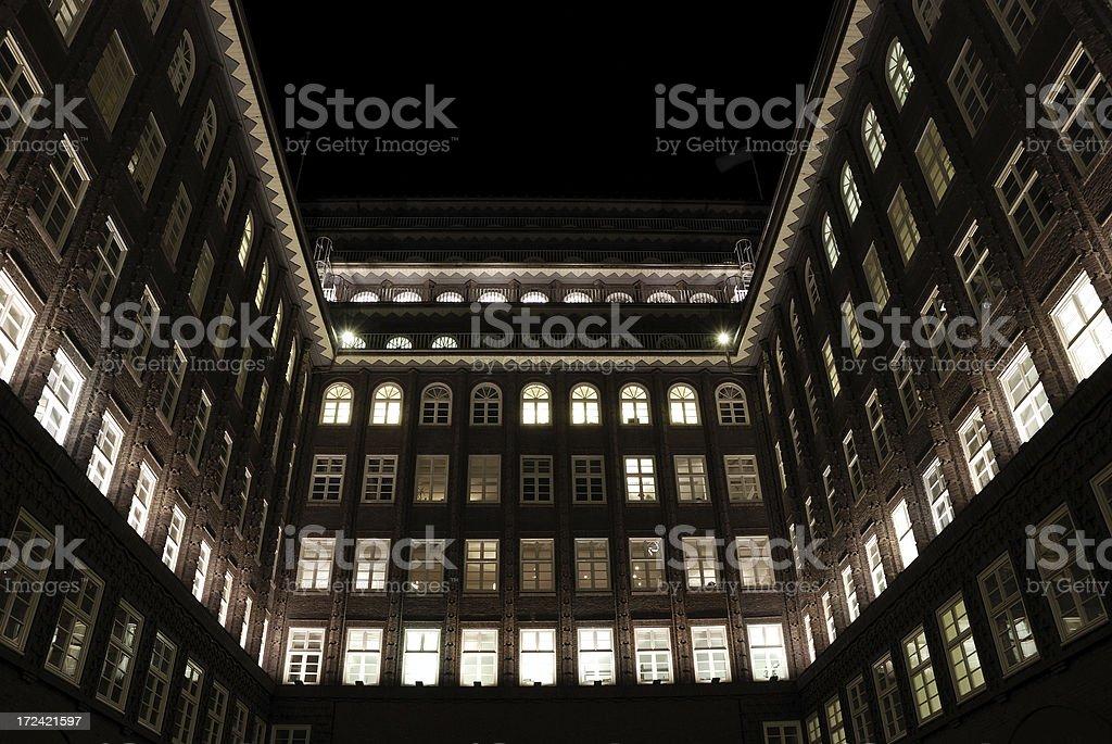 historic quadrangle royalty-free stock photo