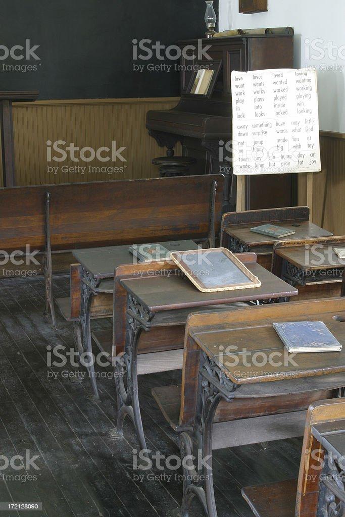 Historic School Room royalty-free stock photo