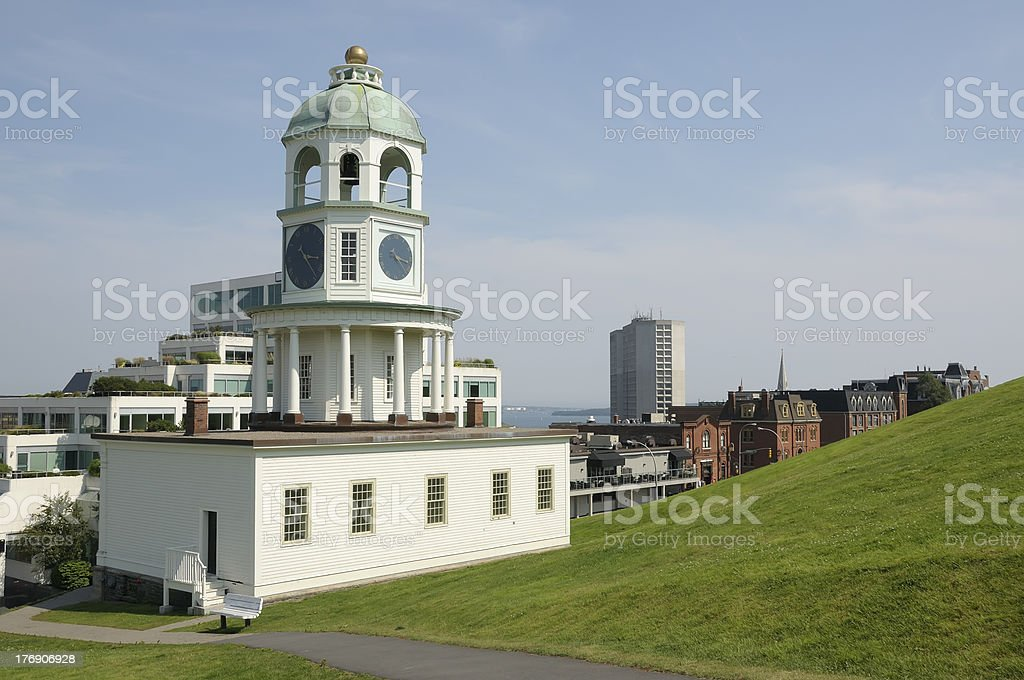 Historic site in Halifax stock photo