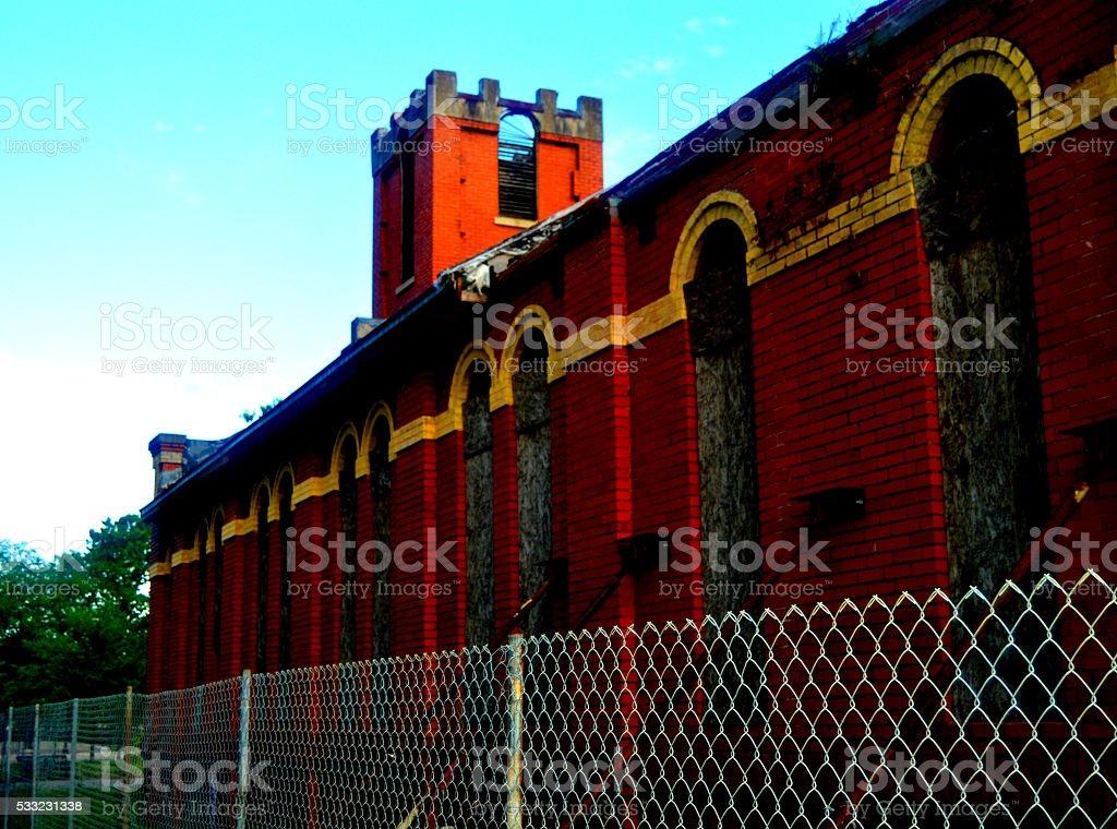 Historic St. James royalty-free stock photo