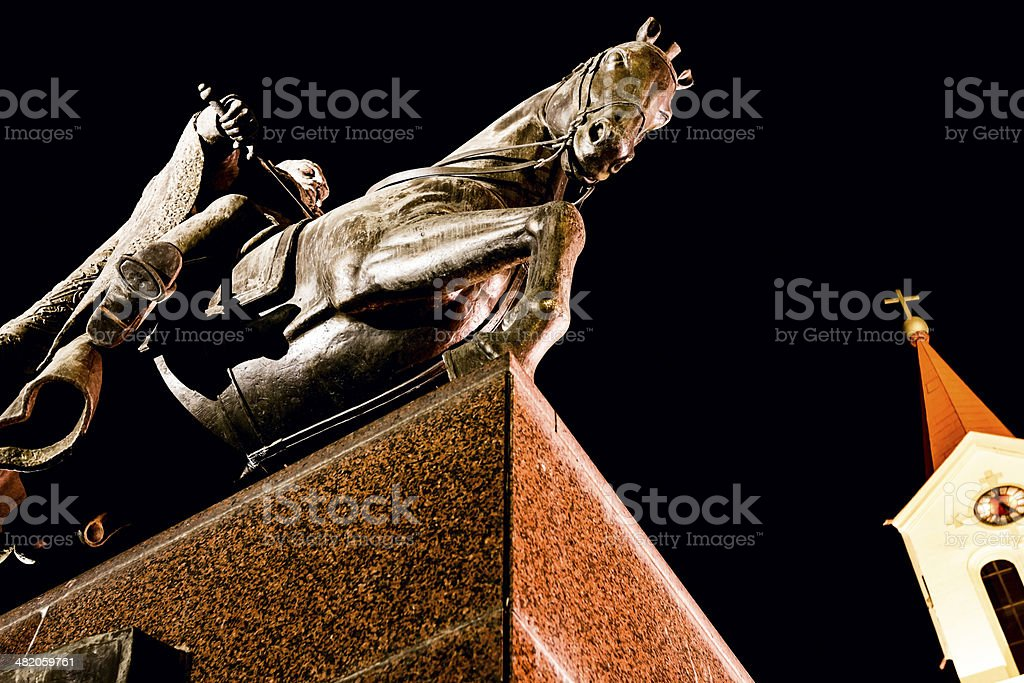 Historic statue royalty-free stock photo