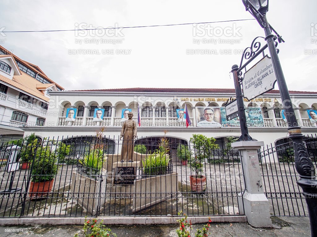Historic Town of Intramuros, Intramuros stock photo