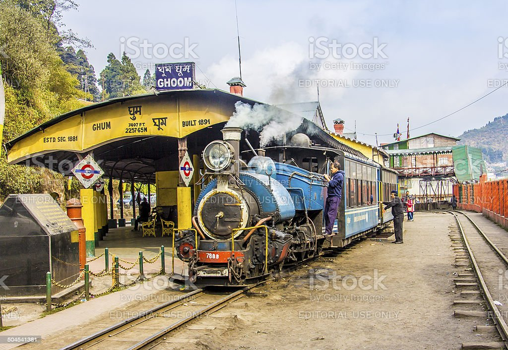 historic train stock photo