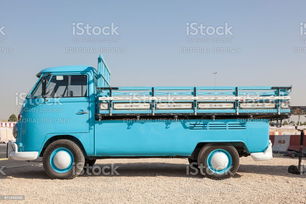 Historic Volkswagen T1 stock photo