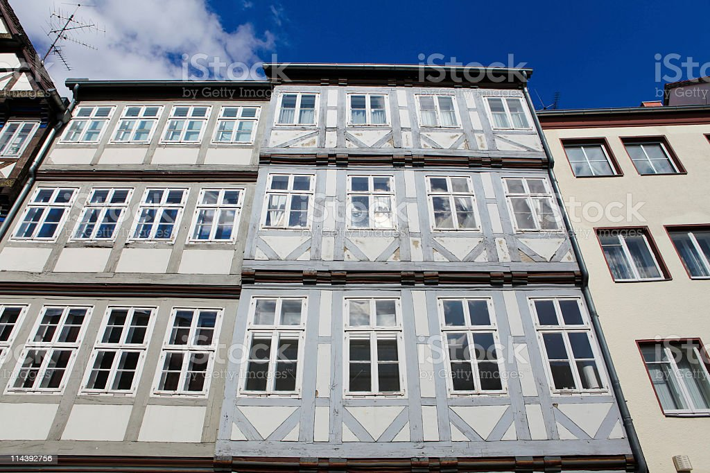 Historical architecture in Hannover stock photo