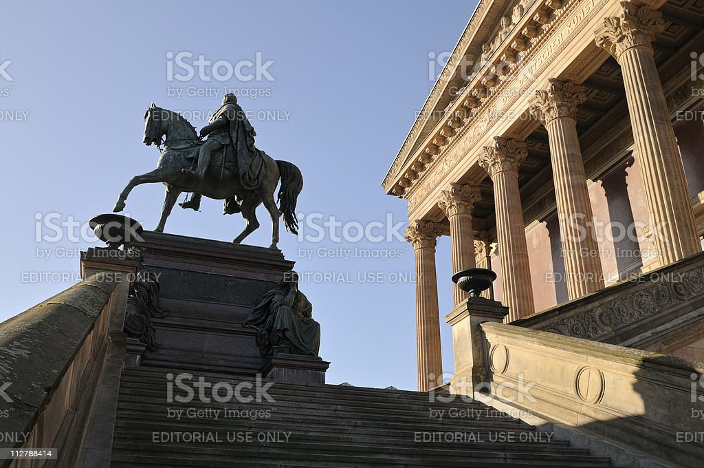 Historical Art Museum in Berlin, Germany stock photo