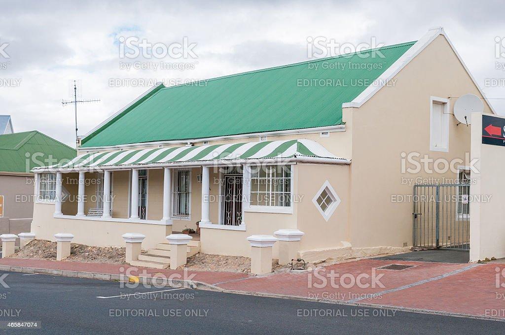 Historical building in Caledon stock photo