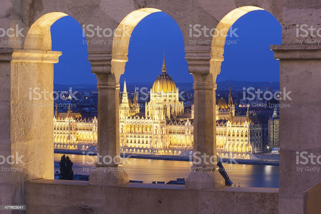 Historical building of parlament royalty-free stock photo